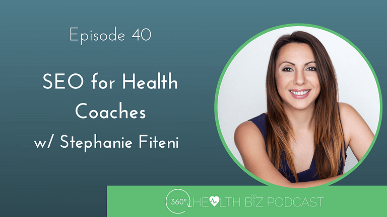 SEO for health coaches