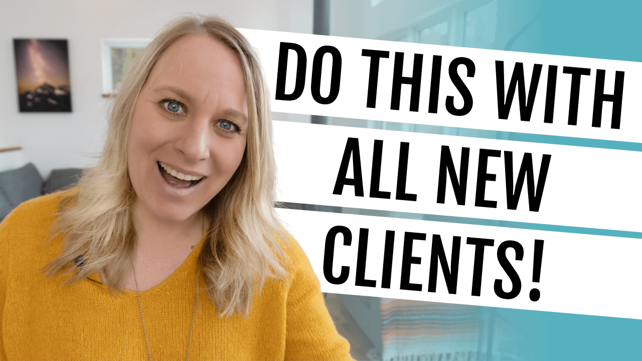 Onboarding Clients Checklist :: Everything You Need Sign Health Coaching Clients