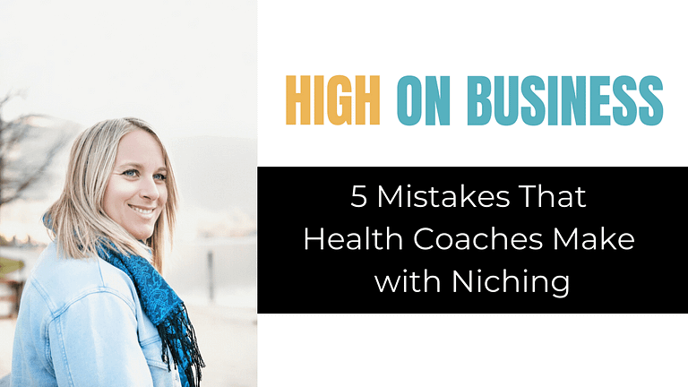 5 mistakes that health coaches make