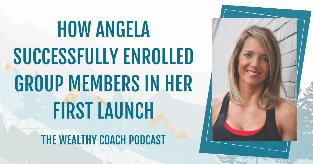 How Angela Successfully Launched her First Group Program